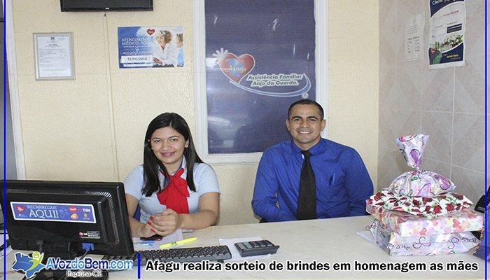 Itapiúna: AFAGU realiza sorteio de brindes em homenagem ao dia das mães