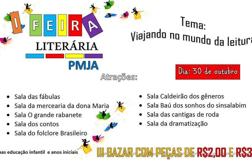 Escola Padre Miguel de Barra Nova realizará Feira Literária, de Ciências, Matemática e Cultura