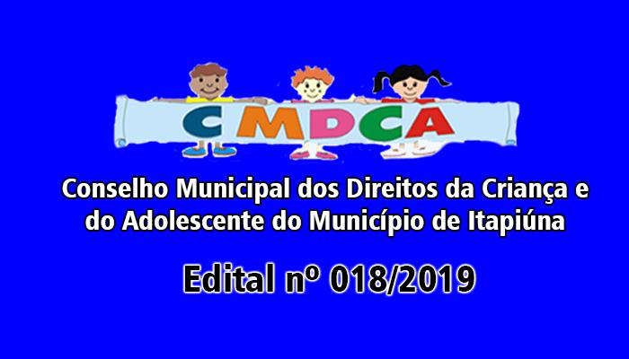 CMDCA de Itapiúna divulga edital de diretrizes referentes aos agentes de apoio dos candidatos