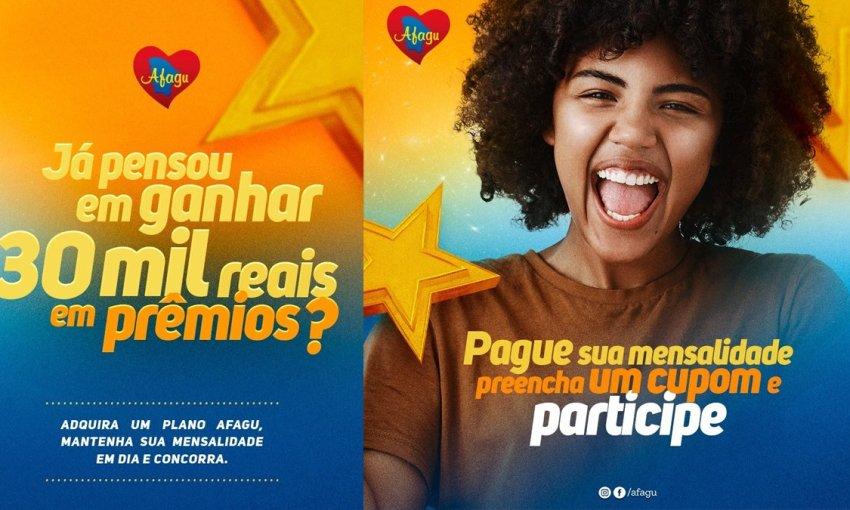 AFAGU: Concorra a 30 mil reais em prêmios na Promoção Fique em Dia com a Sorte