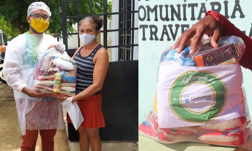 1900 famílias foram beneficiadas com a entrega do Kit Compaixão em Itapiúna e região
