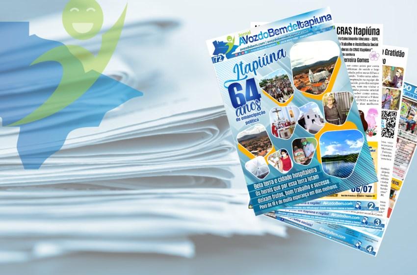 Chegou à edição 72 do jornal avozdobem.com de Itapiúna