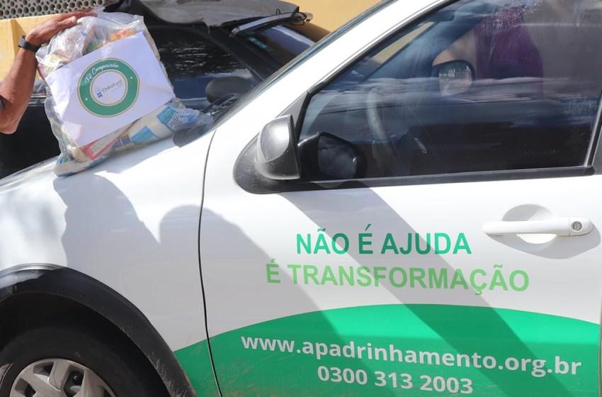 Kit compaixão chega à 352 famílias em Itapiúna e região