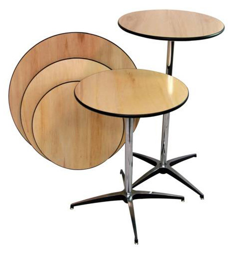 tables round cocktail