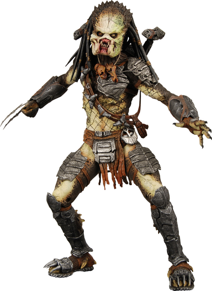 Action Predator Without Masks Figures