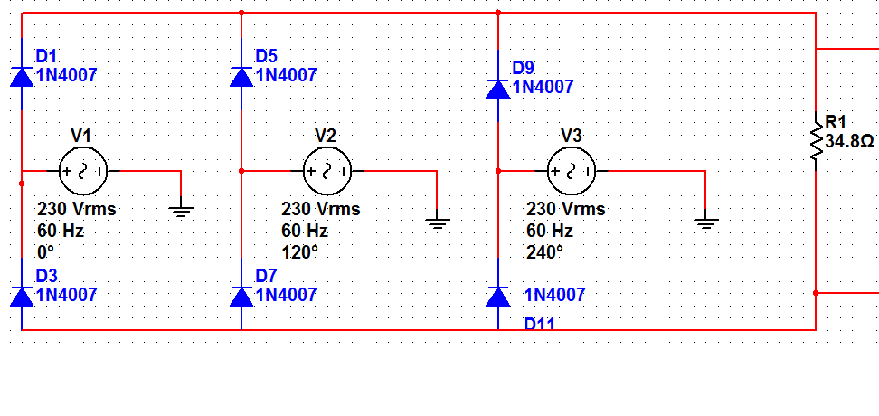 How To Rectify To 320vdc From A 3phase 230vac Source