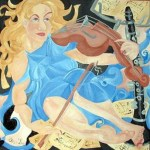 Harmony with a violin and a clarinet