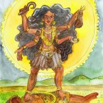 Painting of Kali