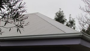 we had the crappy 50s tiles replaced with colourbond roofing