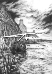 Avril Thomson Smith pencil drawing