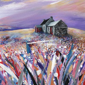 Avril Thomson Smith Croft House Painting Quoys Unst