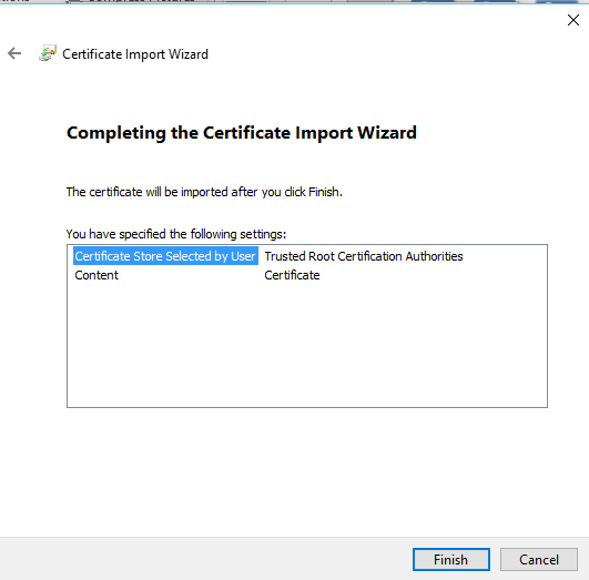 Certificate Install 3