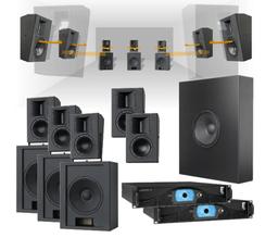 Pakketilbud høyttalersystemer