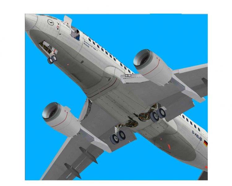 Air 777 Papercraft 300er Canada