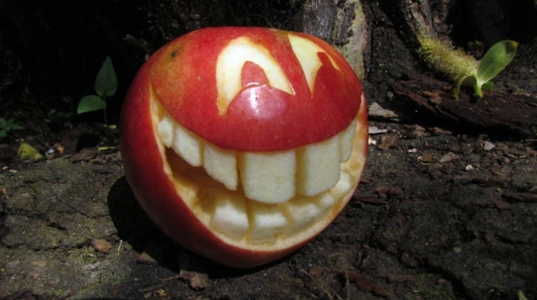 Ideas And Fruit Vegetable Halloween Carving