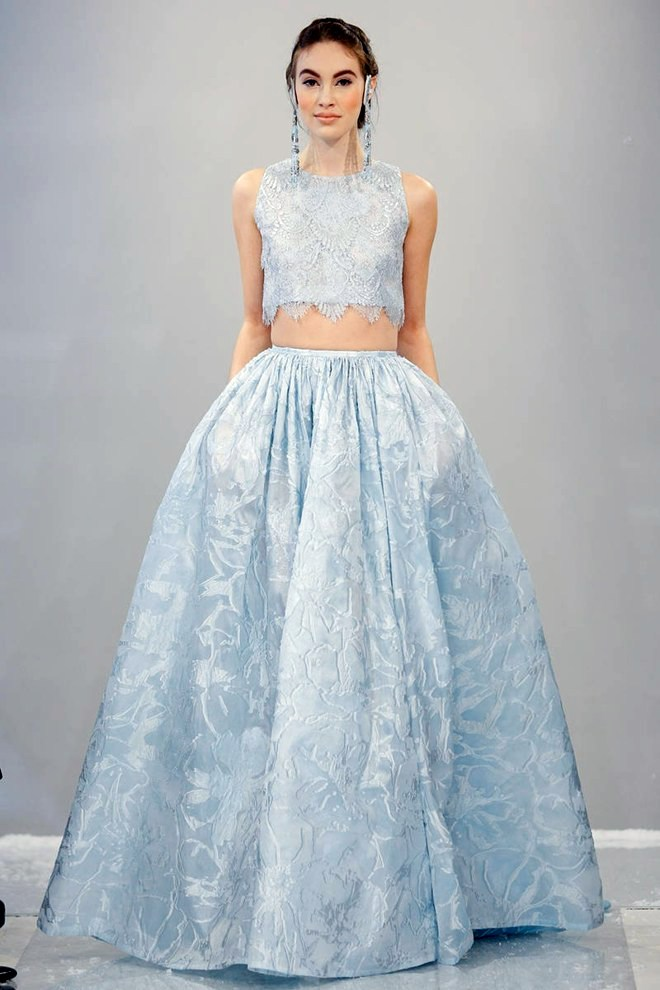 Mini Wedding Dress Dennis Basso Is