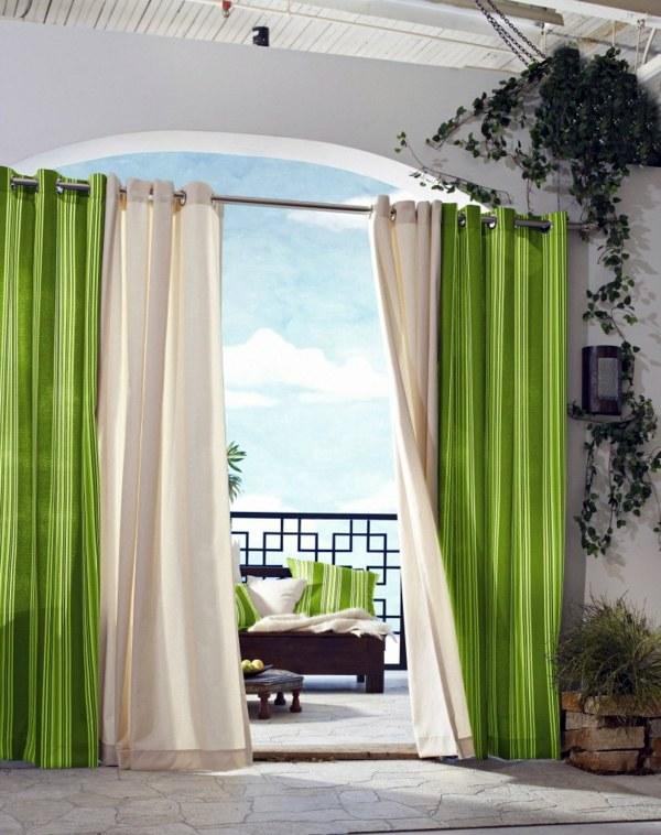 modern window curtain design for living
