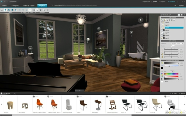Virtual Living Room Planner