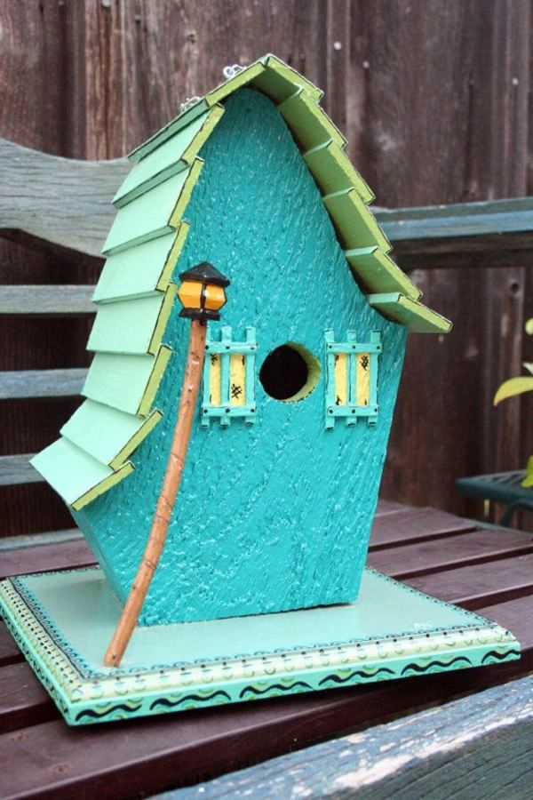 Build Bird House Itself DIY Instructions And 40 Ideas
