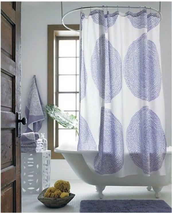 Marimekko Shower Curtain Fresh Colors And Patterns In The Bathroom Interior Design Ideas