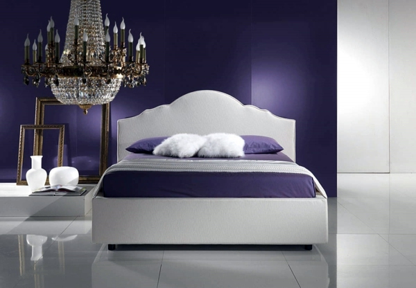 Trend Color Purple Select Bedroom Wall And Make A Modern Feel