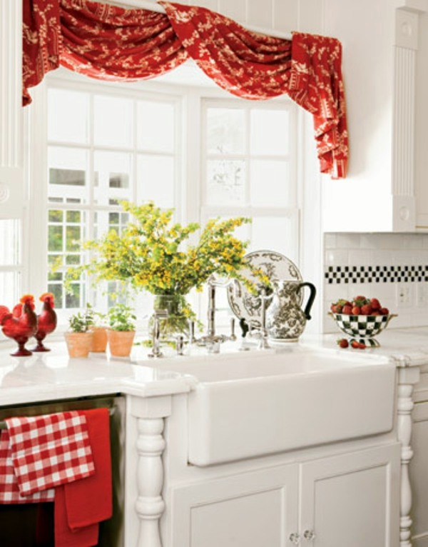 the right kitchen curtains 18 designs