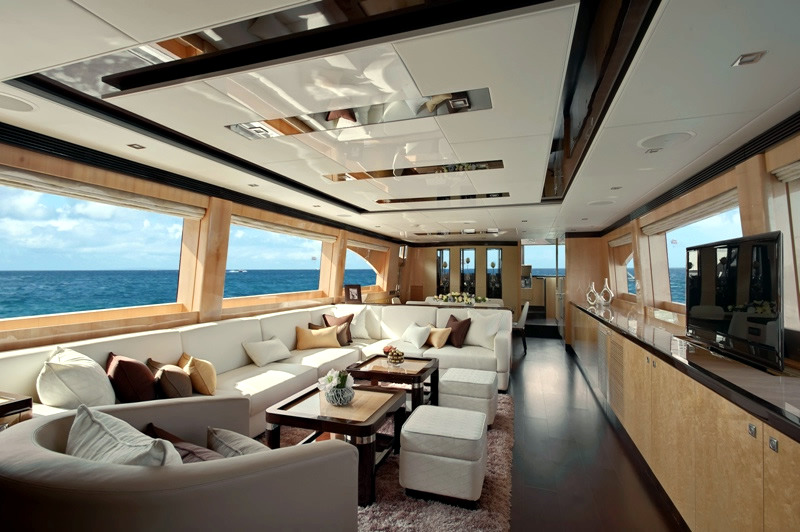 The Exclusive Luxury Yachts Of Interior Design