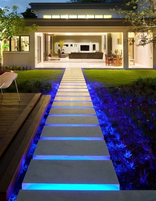 Cool Interior Design Ideas For Modern Outdoor Stairs With Lighting | Modern Stairs Design Outdoor | Ultra Modern | Deck | Contemporary | Railing | Spiral