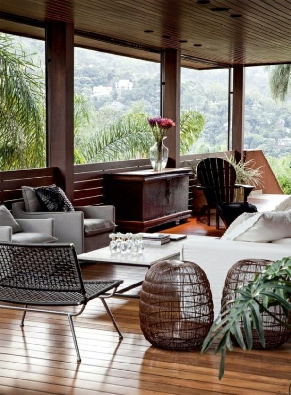 Covered Terrace 50 Ideas For Patio Roof Of Modern Houses Interior Design Ideas