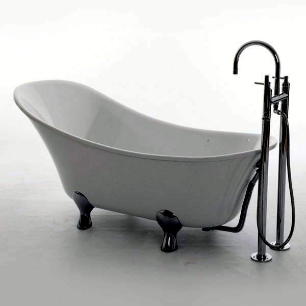 Freestanding Bathtub In Modern Bathroom Interior Design Ideas