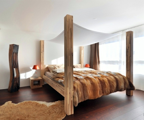 50 cool ideas for canopy beds made of