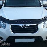 Мухобойка Hyundai Santa Fe 2007-2012 «VIP»