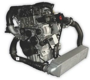 Novi trivaljni motor znamke BMW s poenoteno prostornino posameznega valja.