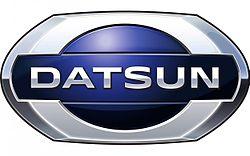 Novi logotip znamke Datsun