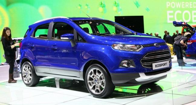 Ford Ecosport: skupaj s Kugo in prihajajočim večjim modelom Edge naj bi dvignil prodajo športnih terencev te znamke v Evropi na en milijon v naslednjih 6 letih.