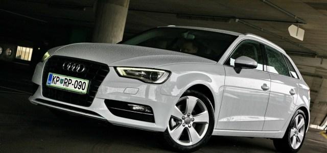 Audi A3 Sportback: s 5 vrati dobrega tisočaka dražji