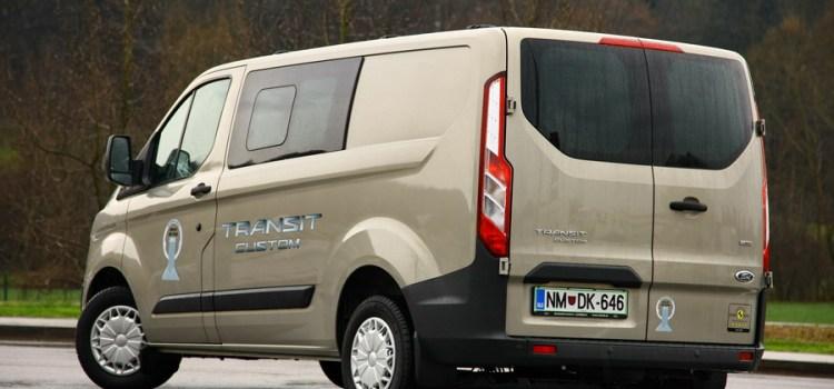 Ford Transit Custom: začetek ofenzive dostavnikov