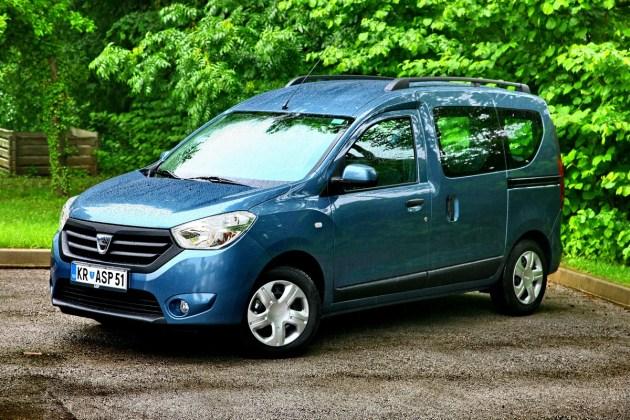 Dacia Dokker: kot osebni multipraktik, kot dostavnik in kot kombinacija obeh.