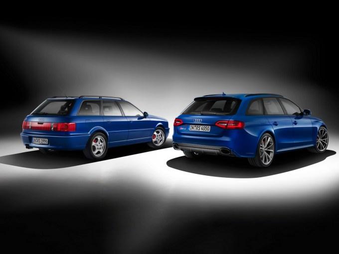 Jubilej: pred dvajsetimi leti je bil RS2 Avant, sedaj bo RS 4 Avant Nogaro.