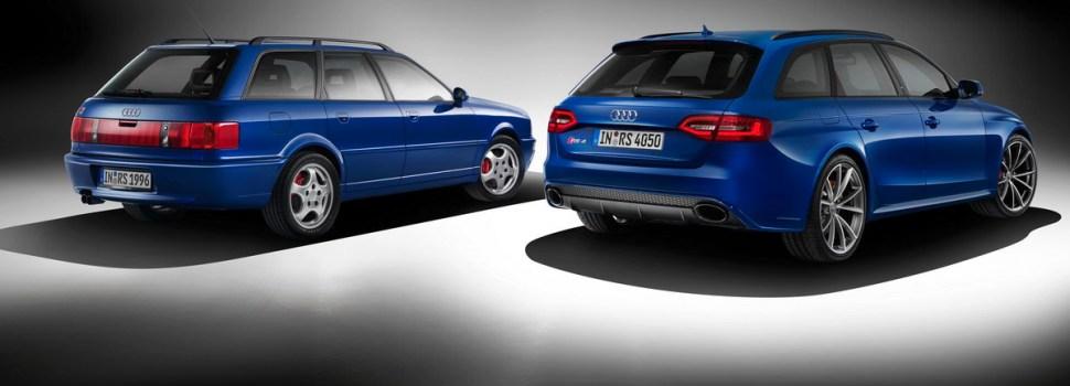 Audi: nekoč RS2 Avant, kmalu RS 4 Avant Nogaro