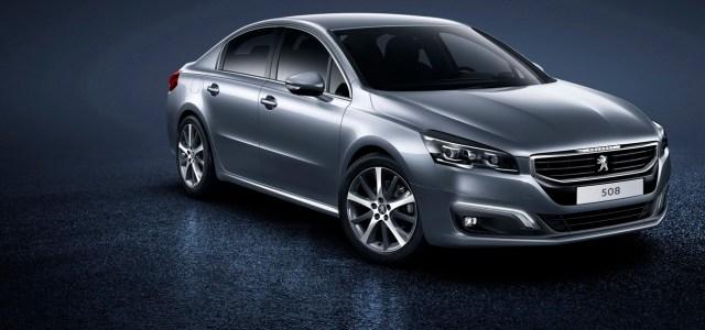 Peugeot 508: napoved prenove