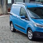 Ford Transit in Tourneo Courier: na slovenskem trgu