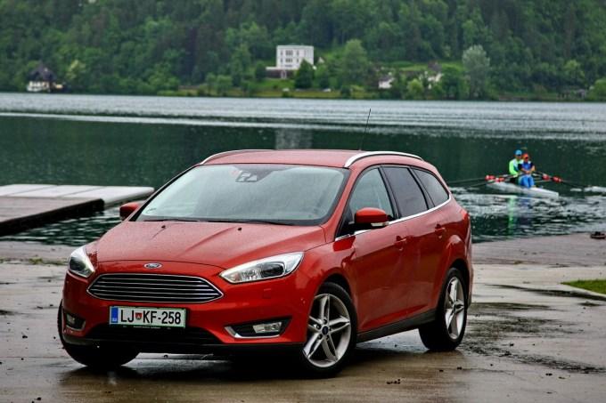 Ford Focus Wagon 1.5 TDCi Titanium: veliko prostora in opreme, a nekoliko slaboten motor.