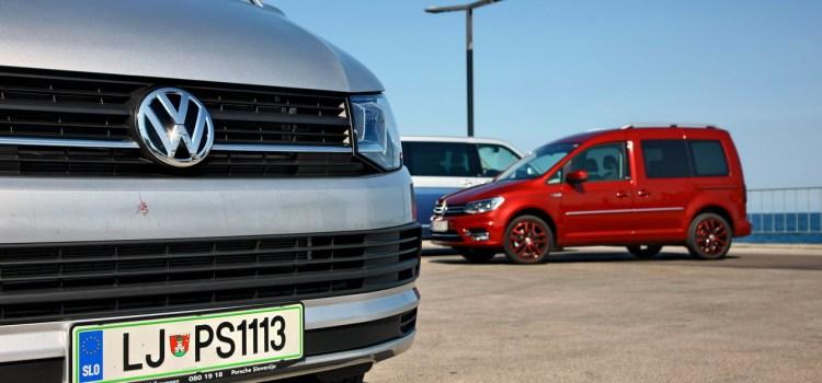 Volkswagen Caddy in T6: na slovenskem trgu