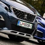 Peugeot 5008 in prenovljeni 308: na slovenskem trgu