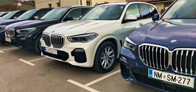 BMW X5 in serija 8: na slovenskem trgu
