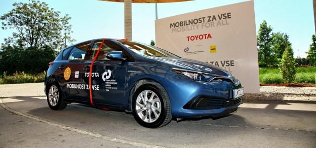 Toyota: mobilnost za vse!