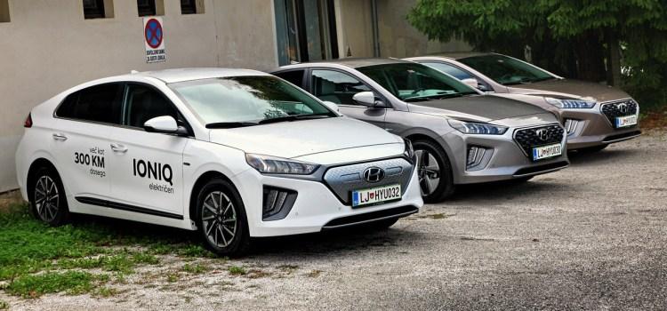 Hyundai Ioniq: prenovljen na slovenskem trgu