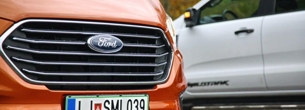 Ford (prenovljeni) Ranger in Tourneo Custom M-HEV: na slovenskem trgu