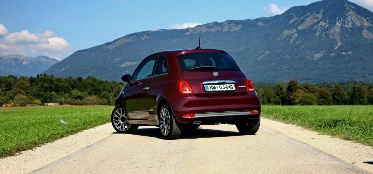 Fiat 500 Hybrid: na slovenskem trgu